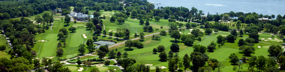 Ariel view of Navesink Country Club